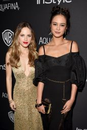 Halston Sage - InStyle And Warner Bros. Golden Globe Awards 2016 Post-Party in Beverly Hills