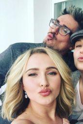 Hayden Panettiere Social Media Pics 1/17/2016