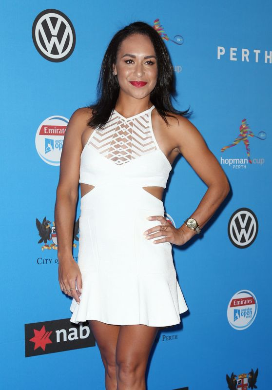 Heather Watson – Hopman Cup Players Party at Crown Perth, January 2016