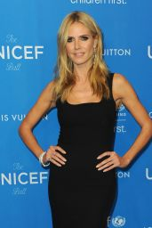 Heidi Klum – 6th Biennial UNICEF Ball in Beverly Hills 1/12/2016