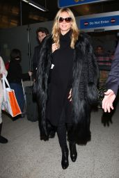 Heidi Klum Style - LAX in Los Angeles, CA 1/5/2016