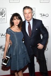 Hilaria and Alec Baldwin - 2015 New York Film Critics Circle Awards in New York City