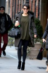 Hilaria Baldwin - Out in New York City, NY 1/6/2016