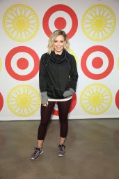 Hilary Duff and Lea Michele - SoulCycle x Target Launch Event in New York City, 1/14/2016