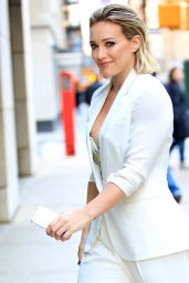 Hilary Duff at Today Show in New York City - Part II 1/12/2016