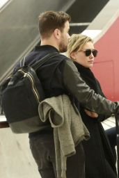 Hilary Duff - LAX Airport in Los Angeles 1/15/2016