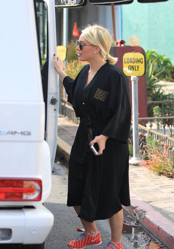 Hilary Duff - Nine Zero One Salon in West Hollywood 1/20/2016