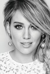 Hilary Duff - Redbook Magazine February 2016 Issue