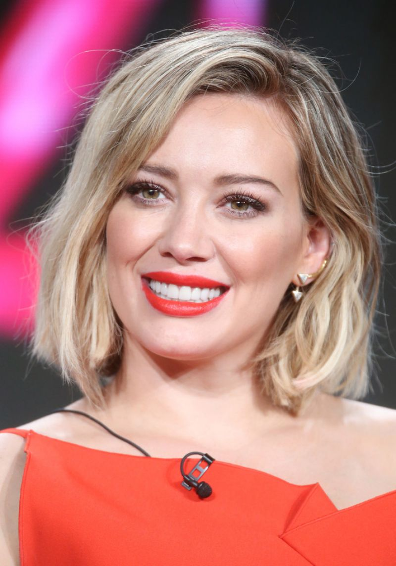 Hilary Duff - TV LAND Younger Panel 2016 Winter TCA Tour ... Hilary Duff