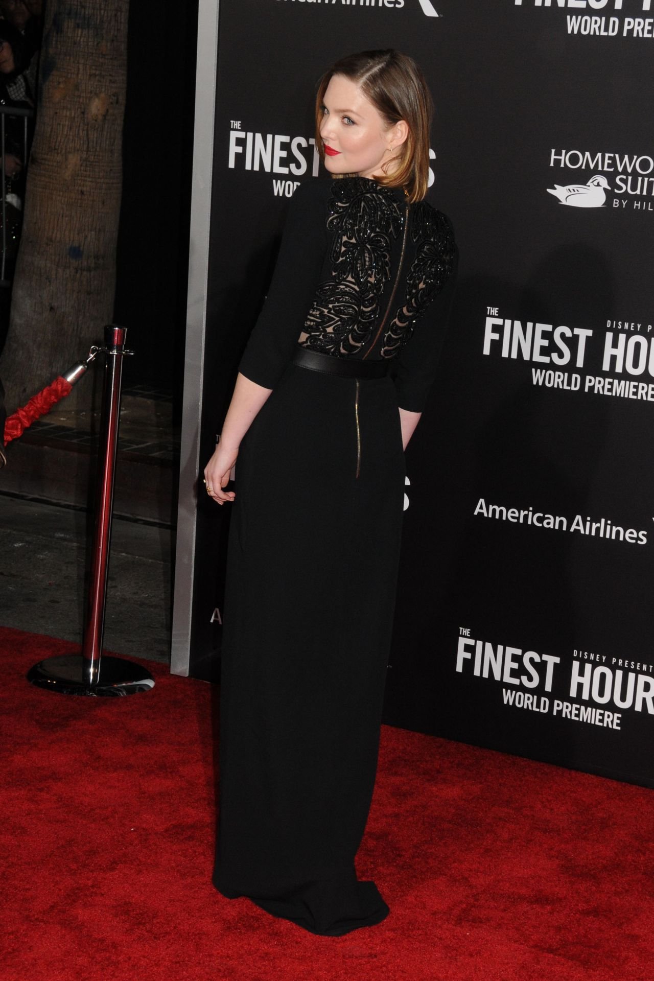 holliday grainger � �the finest hours� premiere in los angeles
