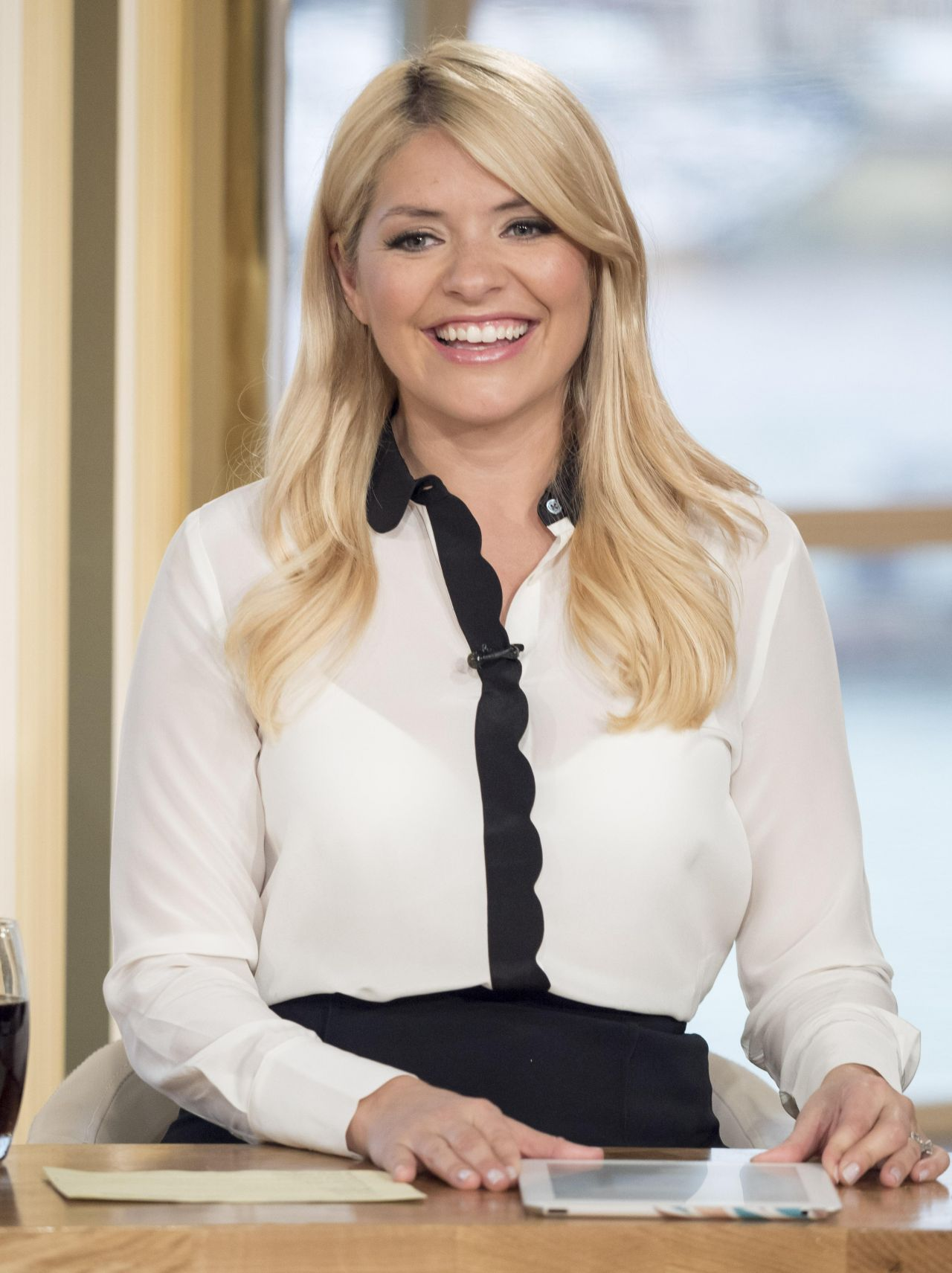holly willoughby this morning tv show in london