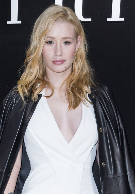 Iggy Azalea – Haute Couture Fashion Show Giorgio Armani Prive Spring-Summer 2016 Photocall in Paris