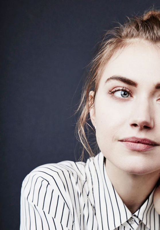 Imogen Poots - Portraits for 2016 Winter TCAs
