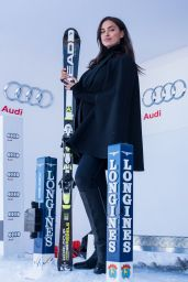 Irina Shayk - Hahnenkamm Race Starting Booth, Kitzbuehel in Austria 1/22/2016