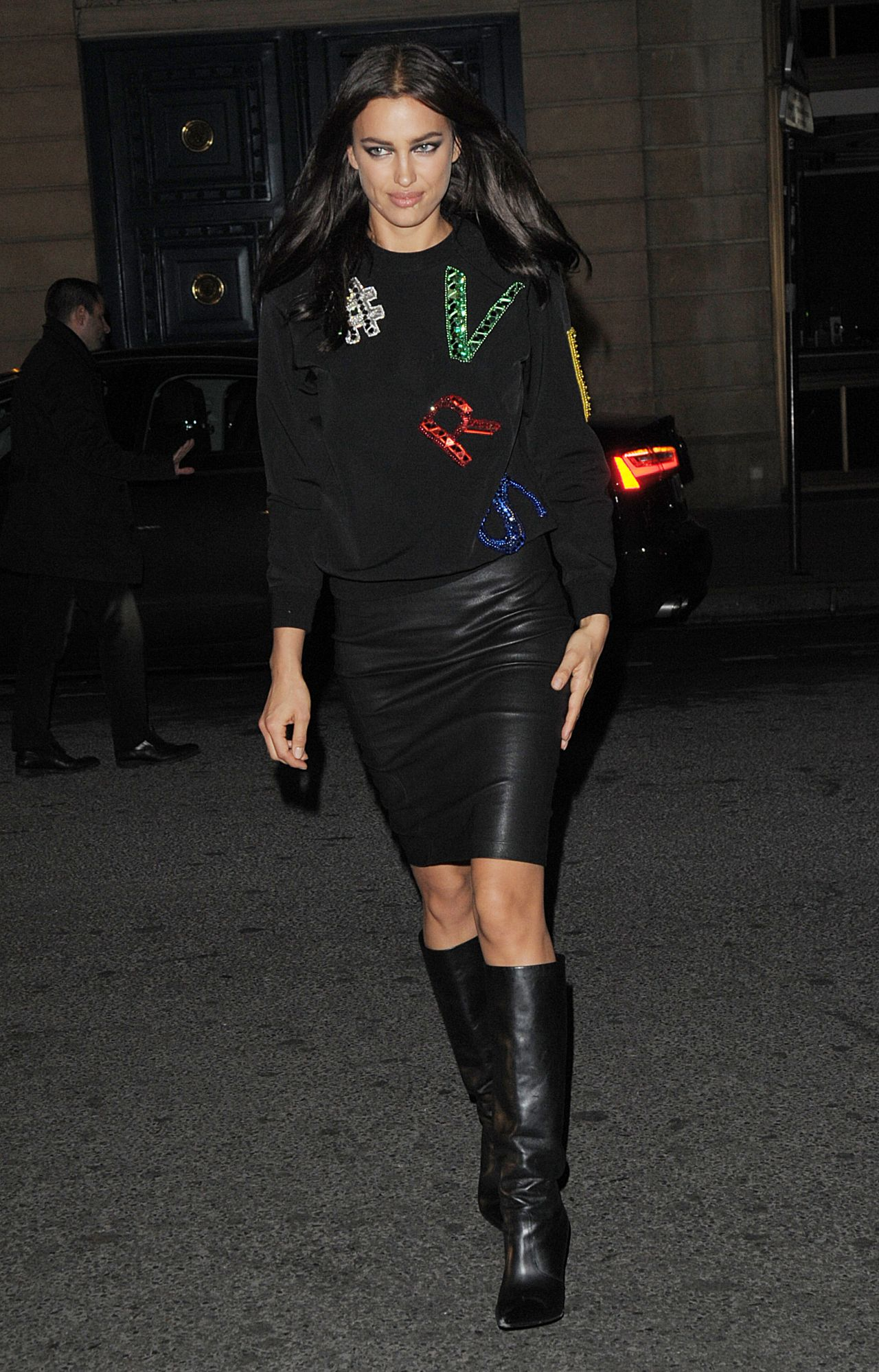 Irina Shayk Paris Fashion Week In Paris 01 24 2016