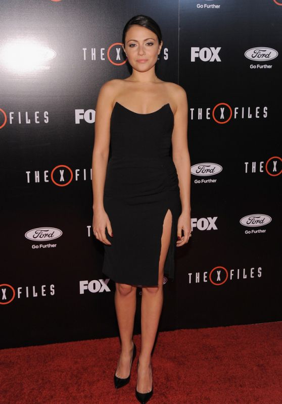 Italia Ricci - The X-Files Premiere in Los Angeles - 1/12/2016