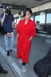 Jada Pinkett Smith - Arrives at LAX Airport 1/28/2016