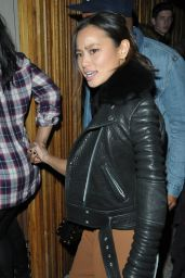 Jamie Chung Night Out Style -