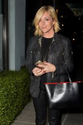 Jane Krakowski - Leaving a LA Film Critics Party in Hollywood 1/16/2016
