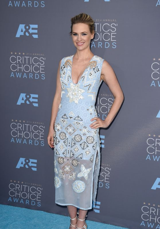 January Jones – 2016 Critics' Choice Awards in Santa Monica