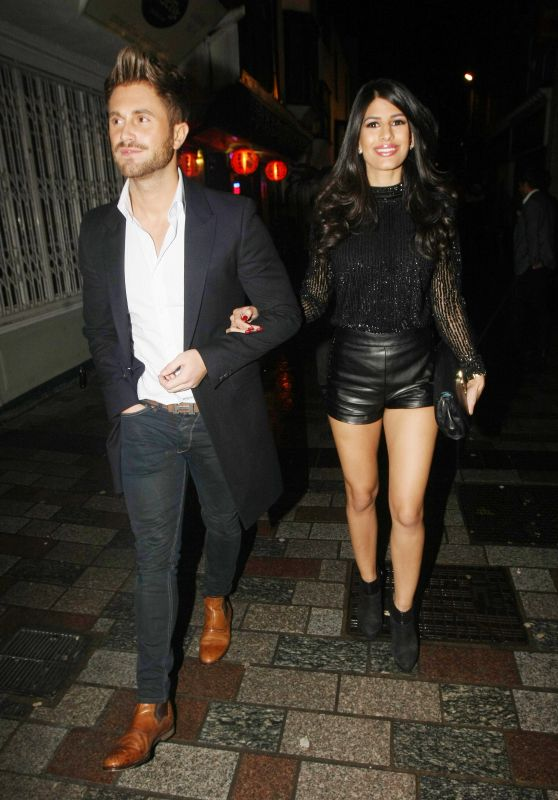 Jasmin Walia Night Out Style - Maidstone in Kent 1/10/2016