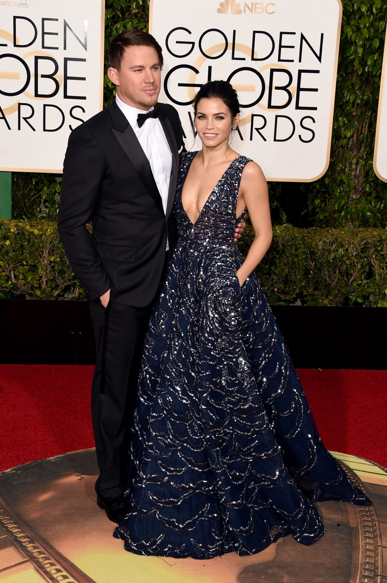 Jenna Dewan Tatum – 2016 Golden Globe Awards in Beverly Hills