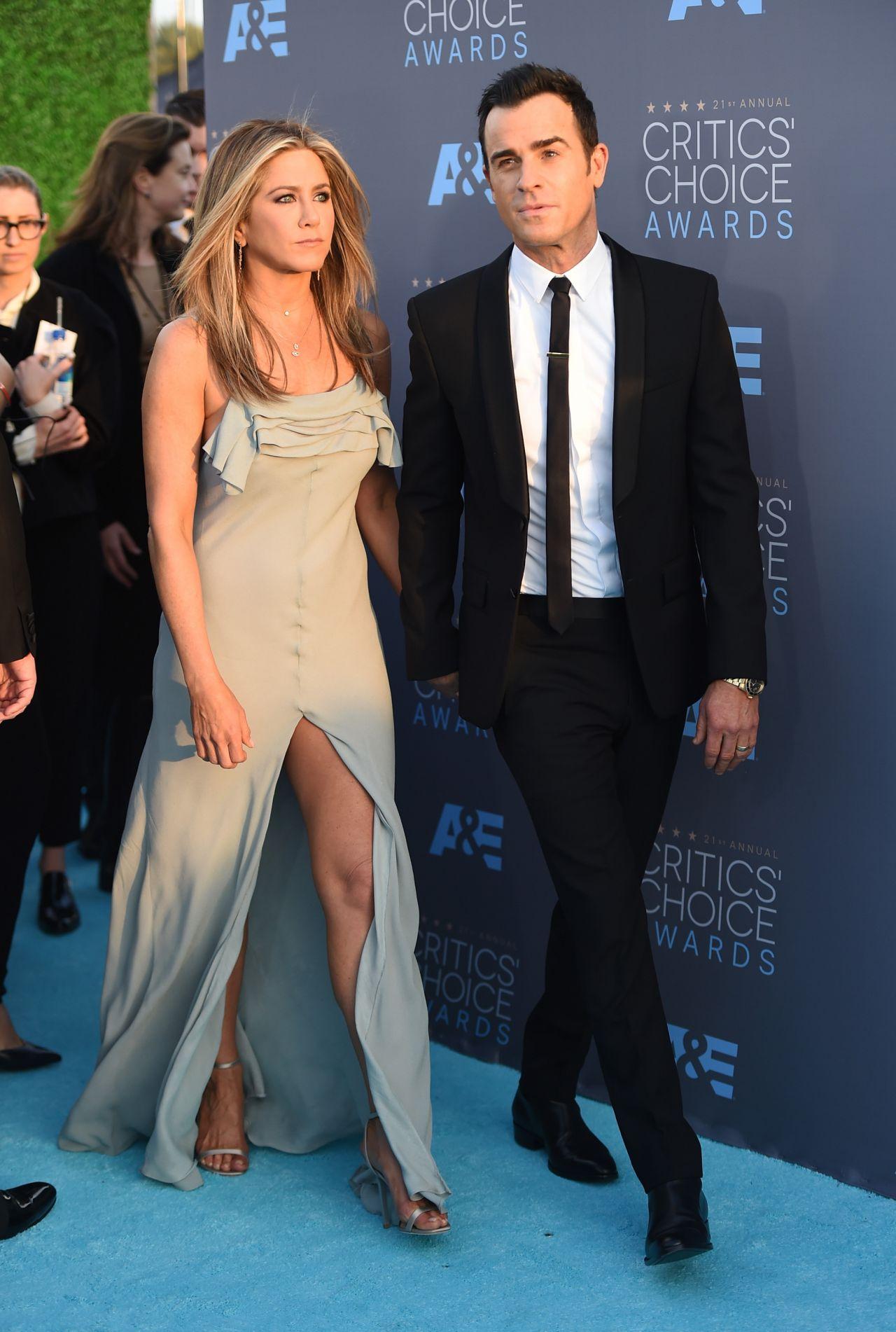 Jennifer Aniston 2016 Critics Choice Awards In Santa Monica