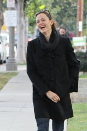 Jennifer Garner Casual Style - Out in Brentwood 1/14/2016