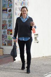 Jennifer Garner No Make Up - Out Brentwood 1/3/2016