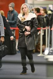 Jennifer Lawrence at JFK Airport in New York City, January 2016