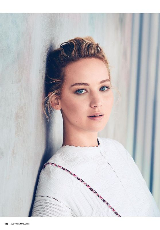 Jennifer Lawrence - Aventura Magazine November 2015 Issue