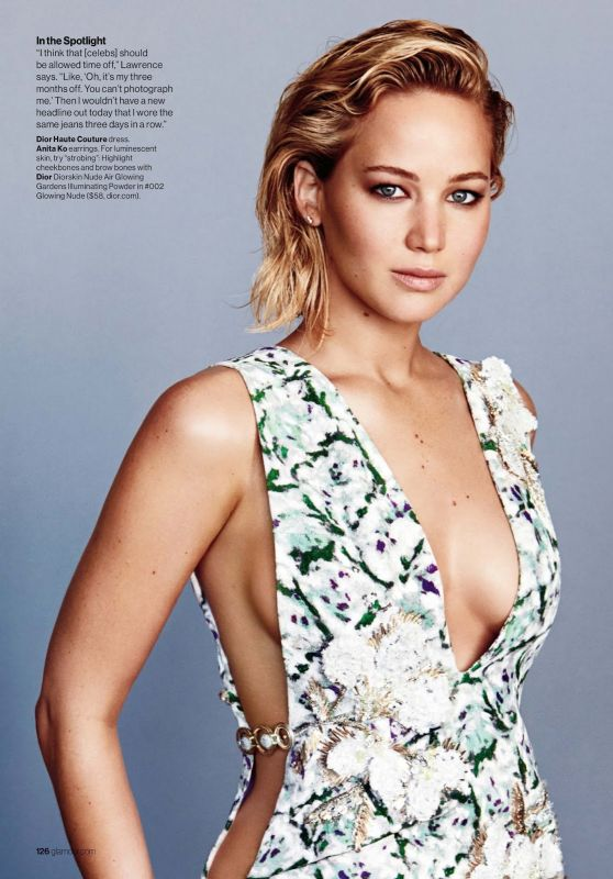 Jennifer Lawrence - Glamour Magazine February 2016 Issue