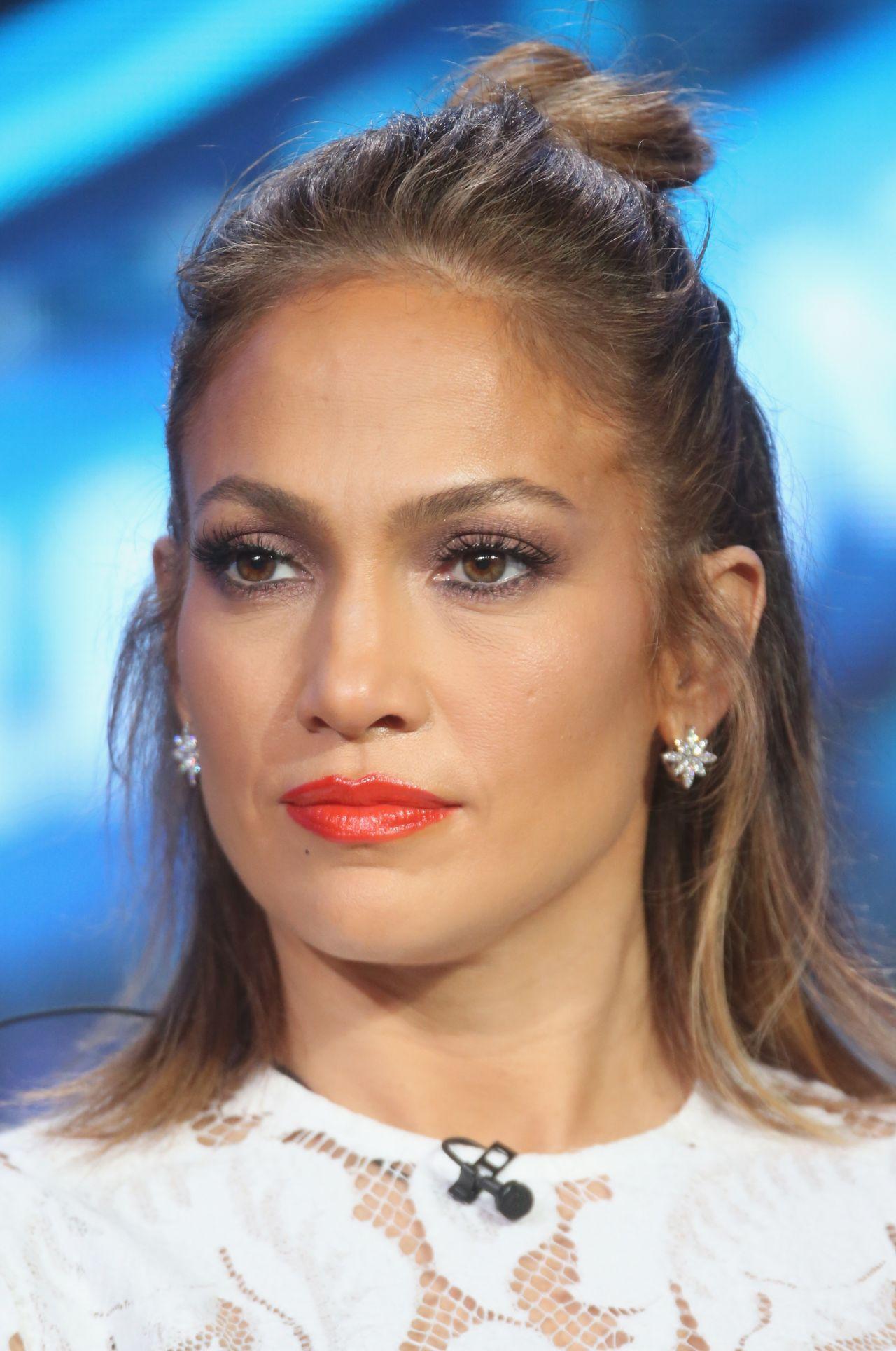 Jennifer Lopez American Idol Panel 2016 Winter Tca