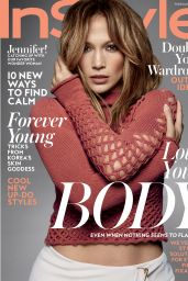 Jennifer Lopez - InStyle Magazine February 2016 Cover