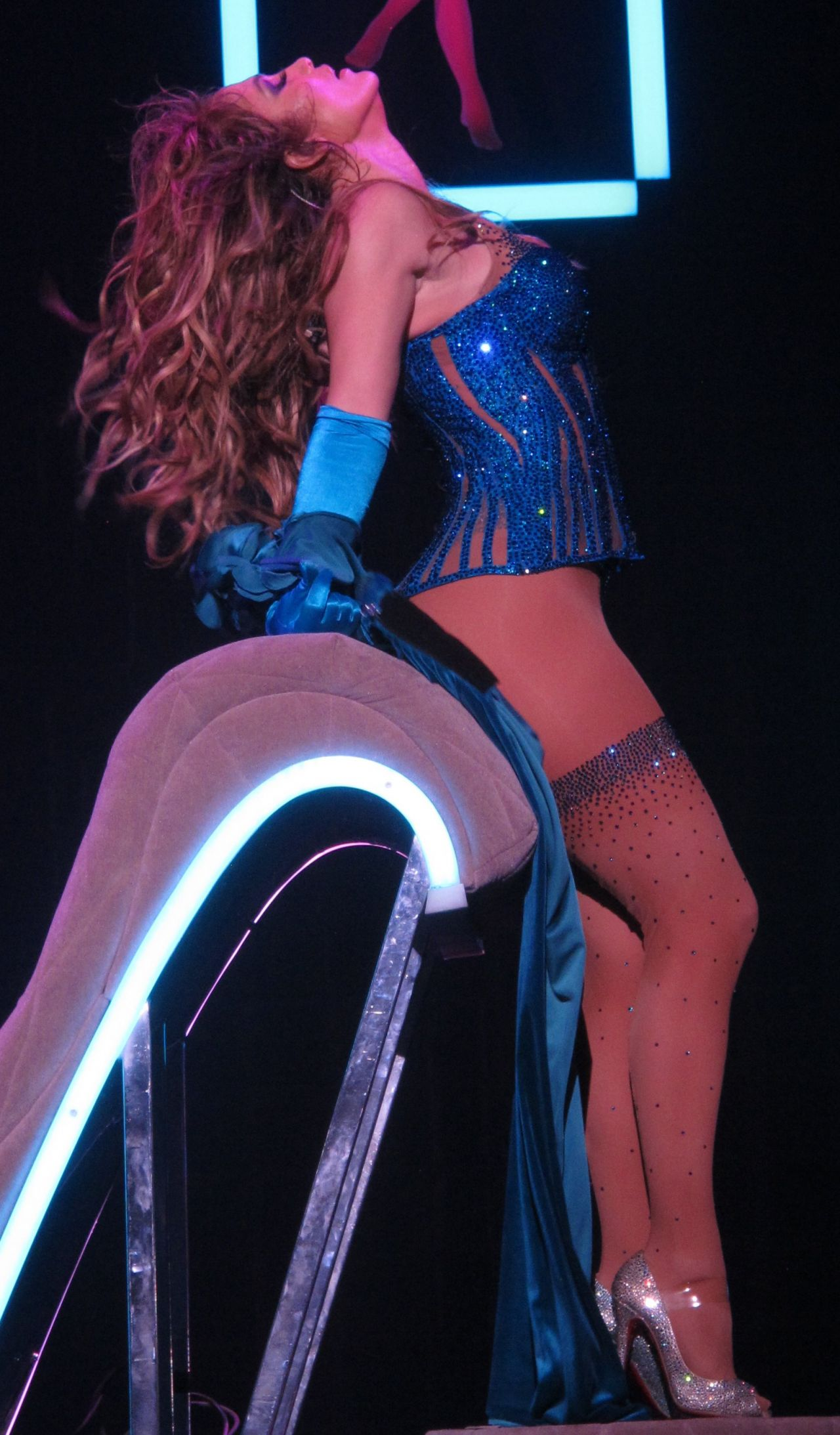 Jennifer Lopez Performs At Opening Night Of Her All I