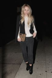 Jennifer Morrison Nigh Out Style - Leaves