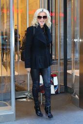 Jenny McCarthy - Leaving SiriusXM Studios in New York 1/19/2016