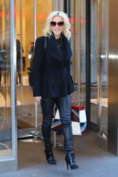 Jenny McCarthy - Leaving SiriusXM Studios in New York 1/19/2016
