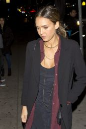 Jessica Alba - Arriving at
