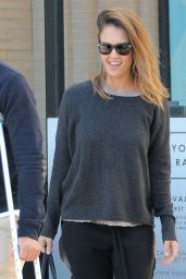 Jessica Alba at a Pharmacy in Beverly Hills 1/4/2015