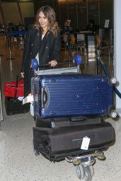 Jessica Alba at JFK Airport in NYC 1/27/2016