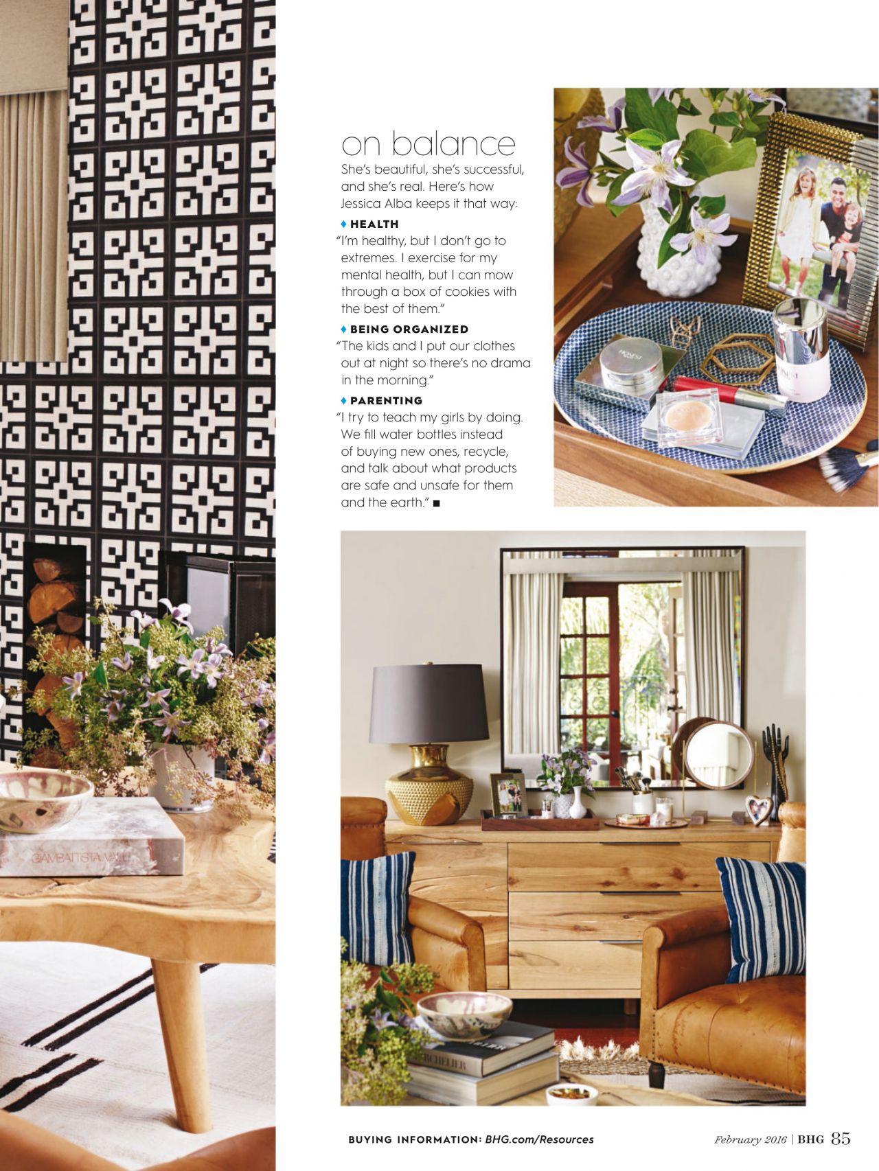 Alba Better Homes And Gardens Magazine February 2016 Issue