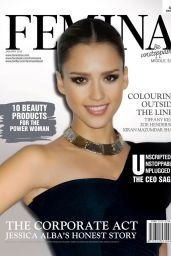 Jessica Alba - Femina Magazine January 2016 Cover