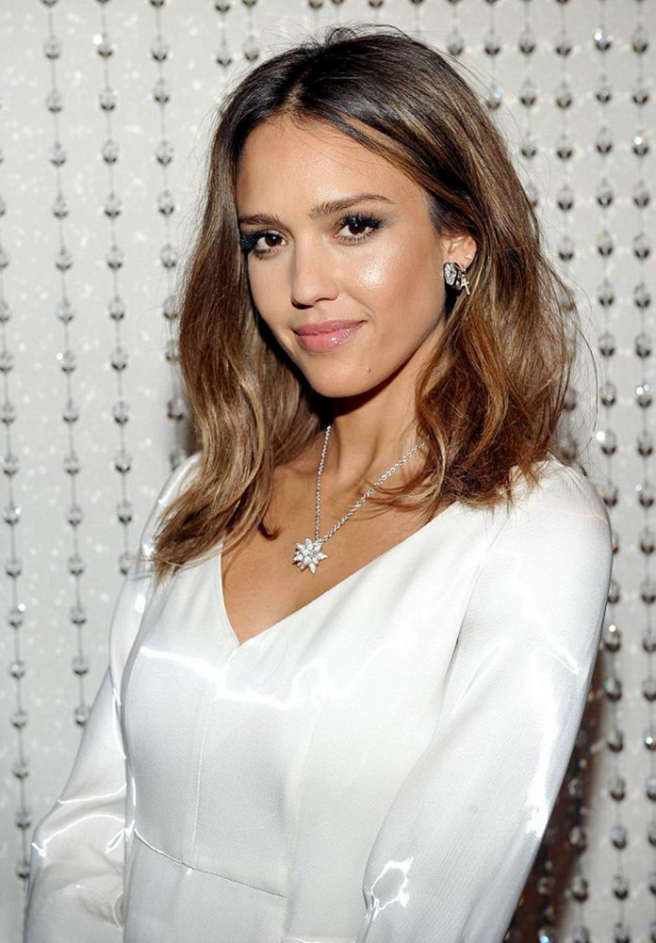 Jessica Alba - Galvan's New Collection for Opening ...