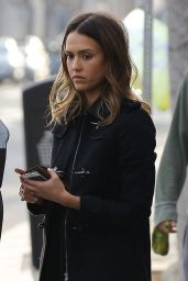 Jessica Alba - Out in Beverly Hills 1/16/2016