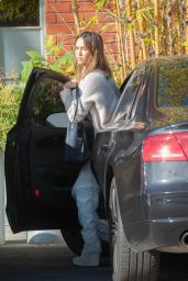Jessica Alba - Out in Los Angeles, January 2, 2016