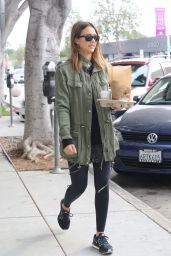 Jessica Alba - Out in West Hollywood 01/23/2016