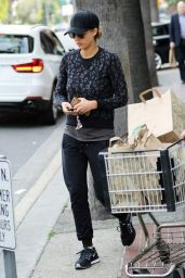 Jessica Alba - Shopping at Whole Foods in Los Angeles, January 2015