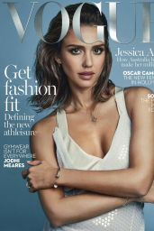 Jessica Alba – Vogue Magazime Australia February 2016 Issue