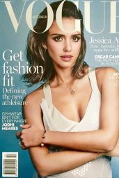 Jessica Alba - Vogue Magazine Australia February 2016 Cover